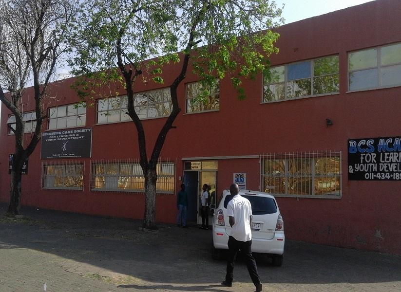 BCS Youth Development Centre. 85 HIGH STR, TURFFONTEIN, JHB, 2190