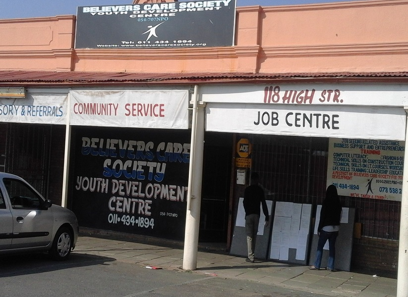 Information and Advisory Centre. 118 HIGH STR, TURFFONTEIN, JHB, 2190